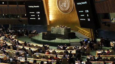 UN General Assembly unanimously vote against US move on al-Quds