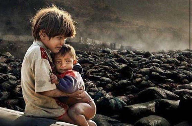 Sharing world oppressed people`s plight