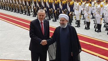 Turkish president Erdogan in Iranian capital, Tehran for talks