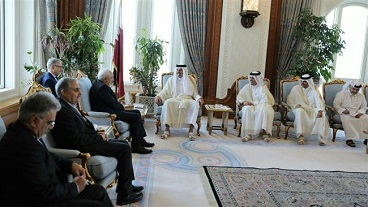 Iran, Qatar underline need for peaceful solutions to regional crises