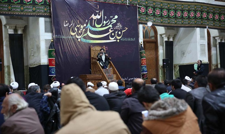 Mourning ceremony at Imam Khomeini's shrine to mark anniversary of the Holy Prophet's passing away