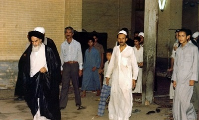 Photo shows Imam Khomeini's simple life-style