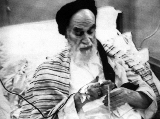 Last days of Imam Khomeini`s life in hospital