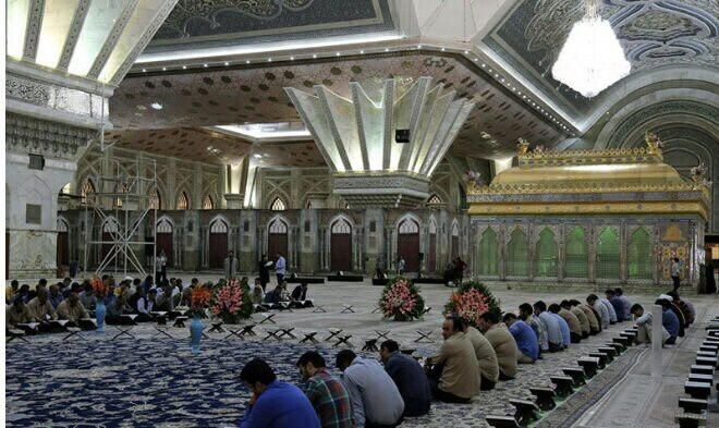 Quranic session at Imam Khomeini's holy mausoleum