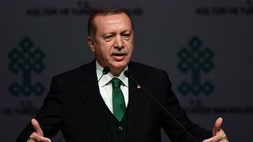 Turkish president  censures Israel as `terrorist state`, `killer of children`