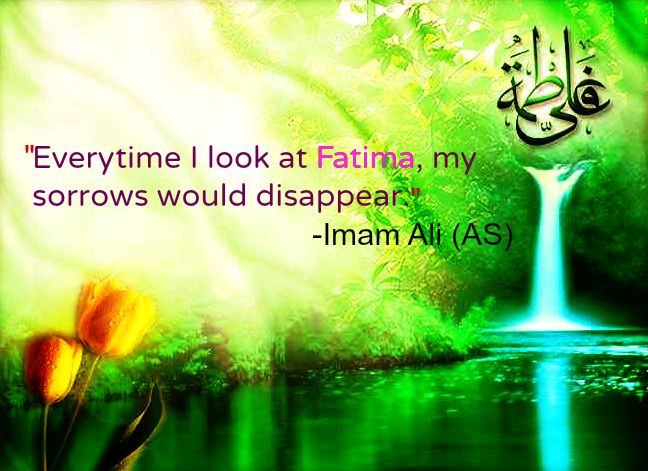 Imam Ali, holy lady Fatima role-model for all believers