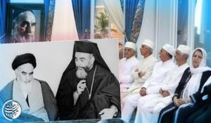 Imam Khomeini's recommended Christian leaders to confront aggressors