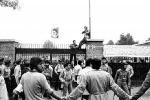 US embassy in Iran was a CIA station, Iranian students had every right to take it over