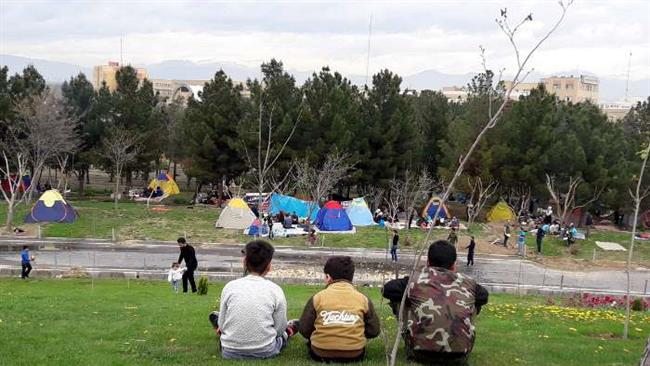 "Iranians mark ""Nature Day"" on 13th day of Persian New Year"