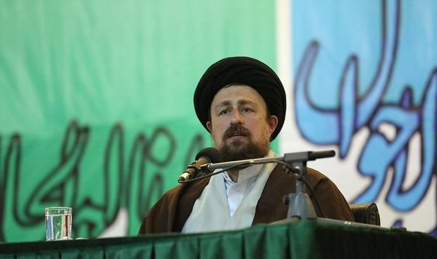 Hassan Khomeini stresses spreading love, avoiding hostilities
