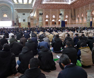 Quranic session organized at Imam Khomeini's shrine