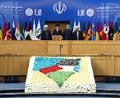sixth international summit to show solidarity with Palestine`s intifada