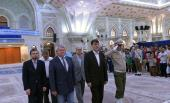 Vetikh Philips, the deputy speaker of  Czech parliament pays tributes at Imam Khomeini's shrine