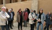 A group of German tourists visit Imam Khomeini's ancestral house in city of Khomein