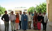 German tourists visit birthplace and ancestral residence of Imam Khomeini in historical city of Khomein