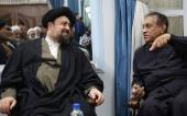 Sri Lanka`s parliament speaker and accompanied delegation hold a meeting with Seyyed Hassan Khomeini