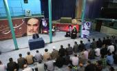 A devoted Quran session and gathering in Jamaran Hosseiniah