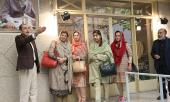 Families of high-ranking Pakistani army officials visit Imam Khomeini's historic residence