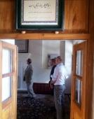 German tourists visit Imam Khomeini`s historic residence in Khomein