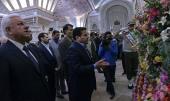 Iraq interior minister pays tributes to Imam Khomeini