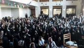 A ceremony marking the daughter's day at historic residence of Imam in Khomein