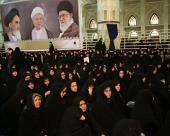 A memorial ceremony to mark seventh day after passing away of Ayatollah Akbar Hashemi Rafsanjani