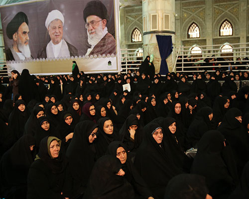 A memorial ceremony to mark seventh day after passing away of Ayatollah Akbar Hashemi Rafsanjani