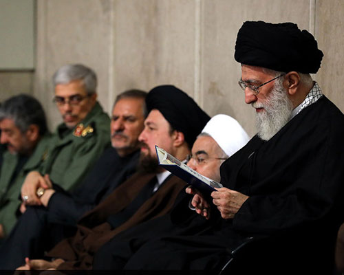 Ceremony held in Hussaynieh of Imam Khomeini to commemorate Ayatollah Rafsanjani
