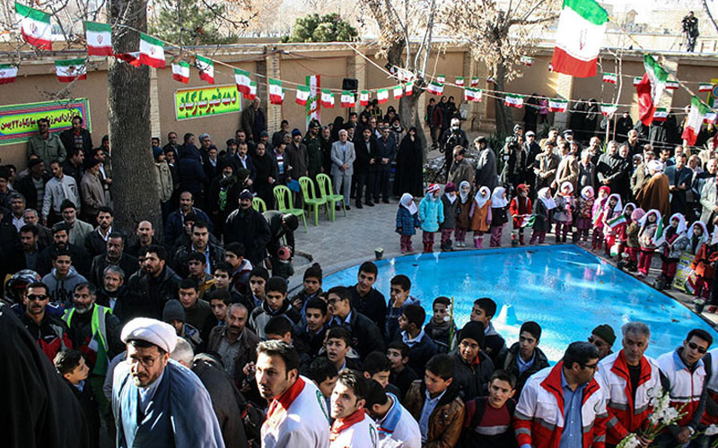 Commemorating the anniversary of Imam Khomeini`s return to Iran after 14 years in exile