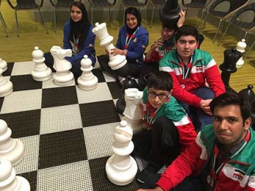 Iran's chess progress owe to Imam Khomeini`s dynamic thought