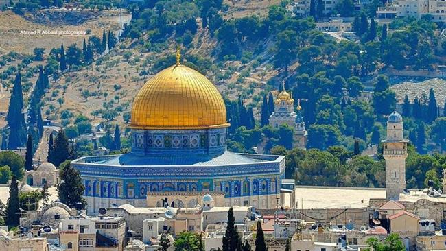 Isreal crimes; declaration of Jerusalem al-Quds as Zionist regime`s capital by the US