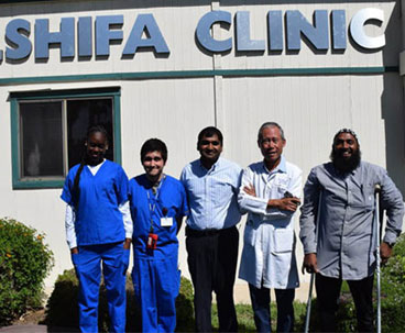 Muslim doctors offer free healthcare services in US