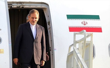 Iranian VP takes part  in Arbaeen procession