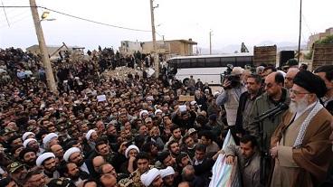 Leader visits quake-hit border region