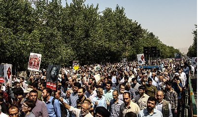 Iranians stage rallies to slam Myanmar Muslims massacre