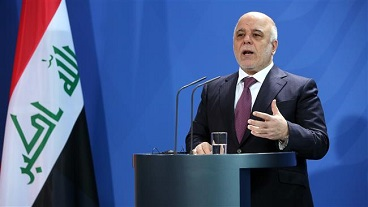 PM al-Abadi says Iraqis entitled to think S Arabia backs terror