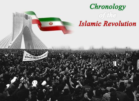 Chronology of the Islamic Revolution  from the time of Imam's arrival to the dawn of victory