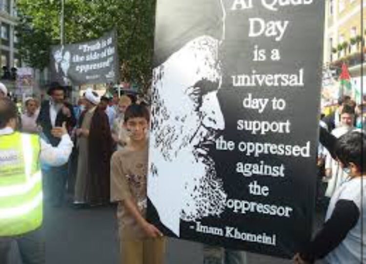 International Quds Day displays Imam Khomeini support for Palestinians