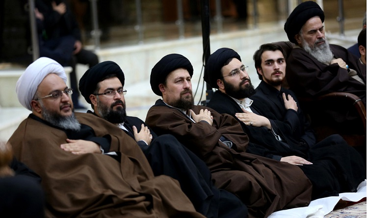 A mourning ceremony marks the martyrdom Hadrat Zahra (PBUH) at Imam Khomeini's mausoleum