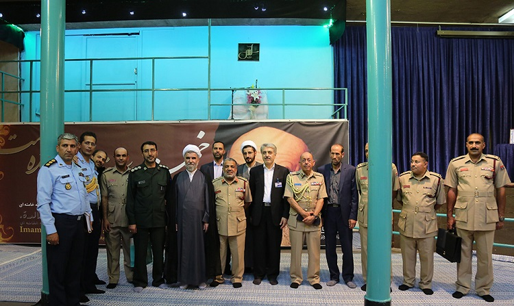 Oman Armed Services' Medical Assistant visit Jamaran complex