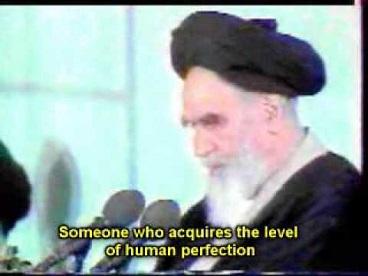 Ayatullah Khomeini speaking about Imam Ali (PBUH)