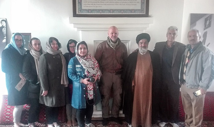 A representative of United Nations visits Imam's historic residence to Khomein