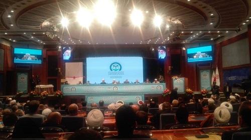 Closing ceremony of Islamic unity summit being held in Tehran