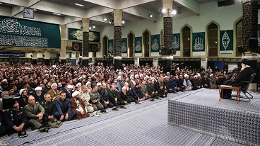Ayatollah Khamenei hails massive turnout at Islamic Revolution anniversary