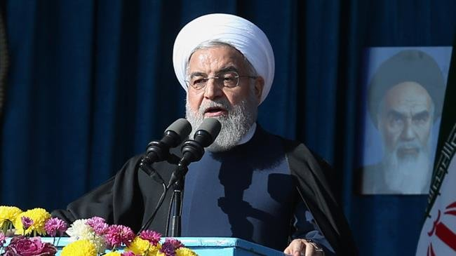 President Rouhani warns US over attempts to block oil sales
