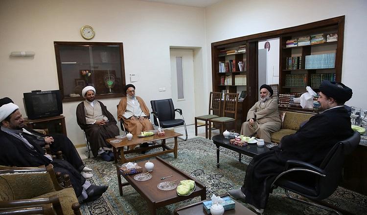 Islamic scholars from Europe's Shia Council meet Seyyed Hassan Khomeini