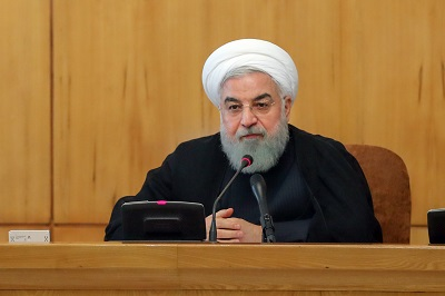 President Rouhani assures nation that Iran government has no fear of US threats