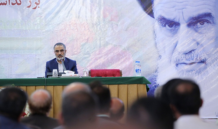 The officials and organizers of the 29th passing anniversary of Imam Khomeini hold a meeting