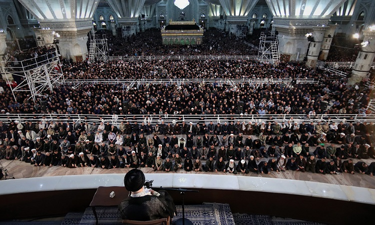 A sea of people commemorate 29th passing ceremony of Imam Khomeini at his shrine