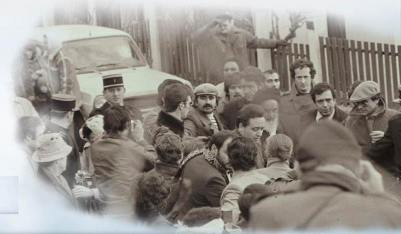 Imam Khomeini's migration to Paris, a flash point in revolution history